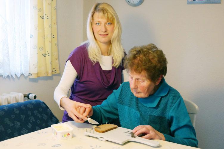 Reduzierung der Pflegebedürftigkeit durch Alltagstraining